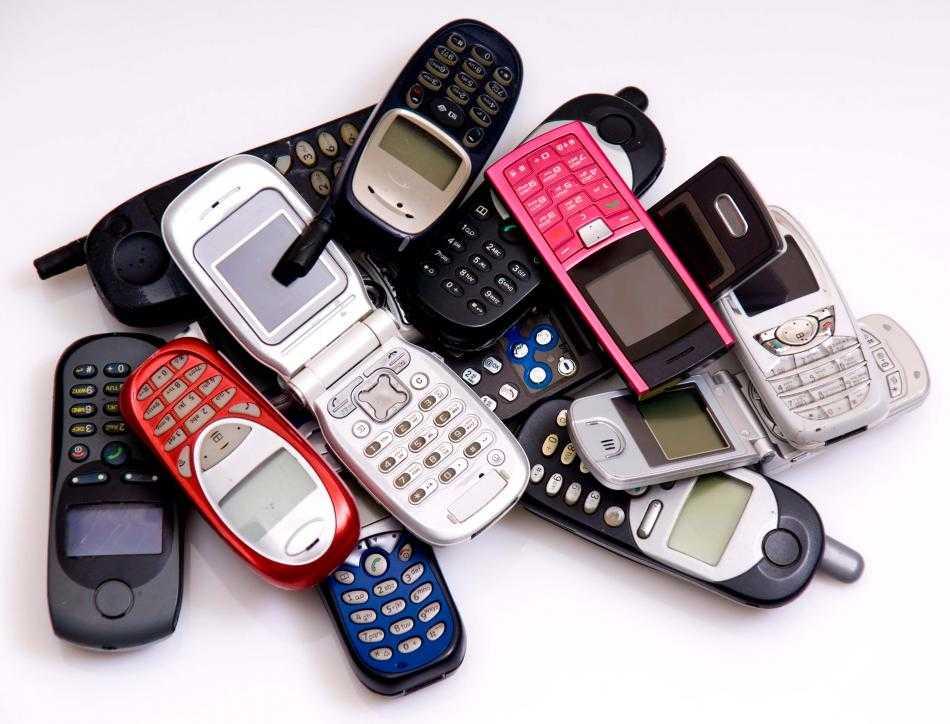 Лом мобильных телефонов