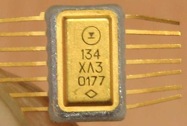 Микросхема серии 134