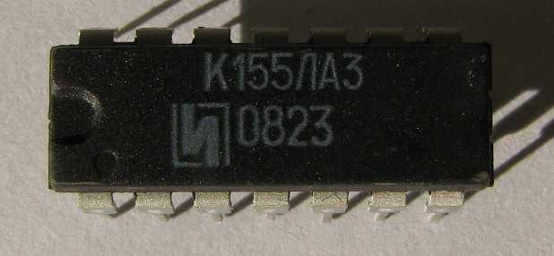 Микросхемы серии 155 - весьма многочисленная группа лома радиодеталей