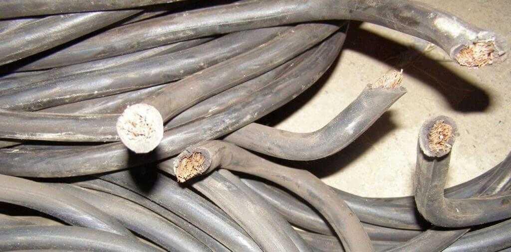 лом медного кабеля