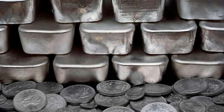 лом серебра