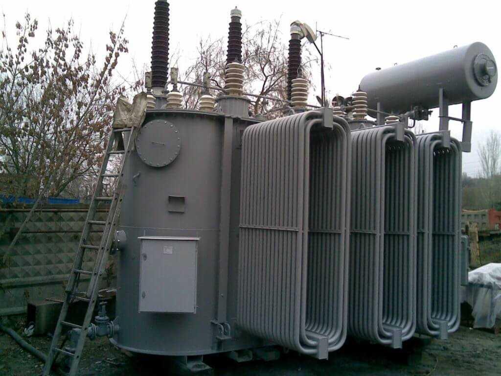 масляный радиатор трансформатора