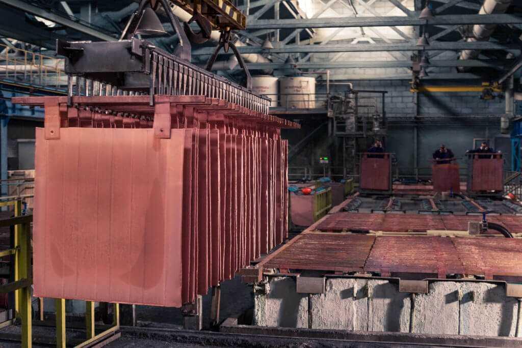 цех завода цветных металлов