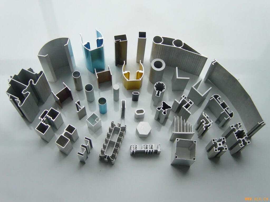 Виды алюминиевых профилей