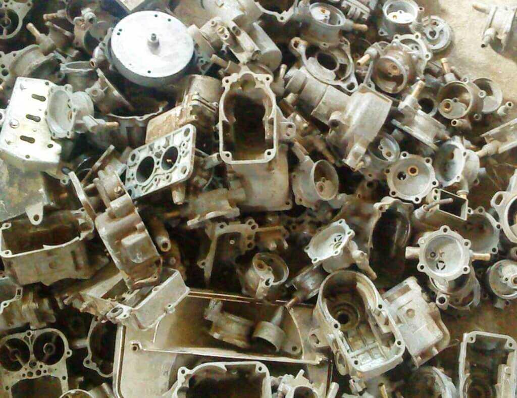 Лом моторного алюминия