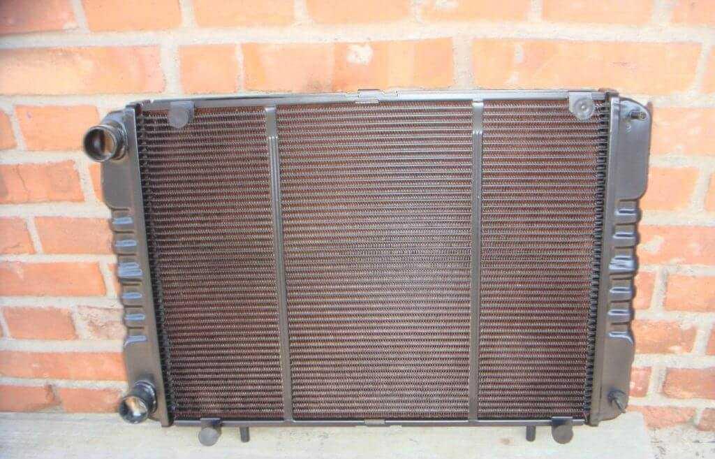 латунный радиатор газели