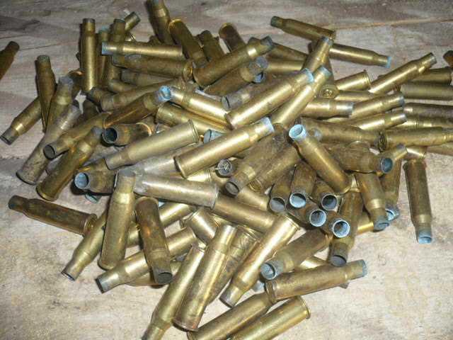 Латунные стрелянные гильзы - это неопасный вид лома