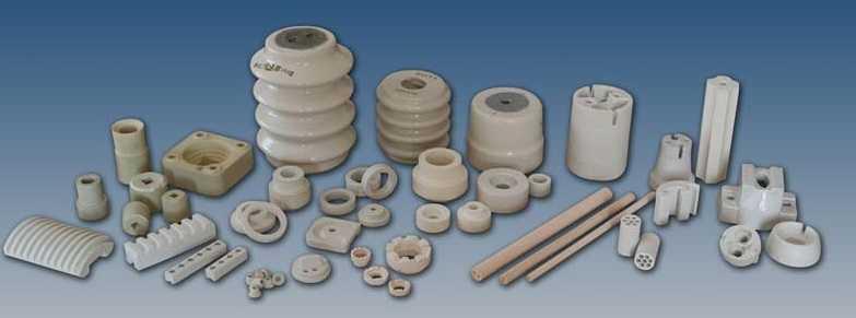 разнообразие керамических изоляторов