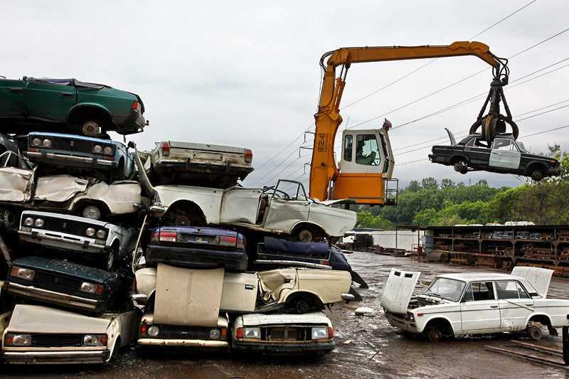 Если не trade-in то ликвидация - авто по этому пути отправляются в лом и на переплавку