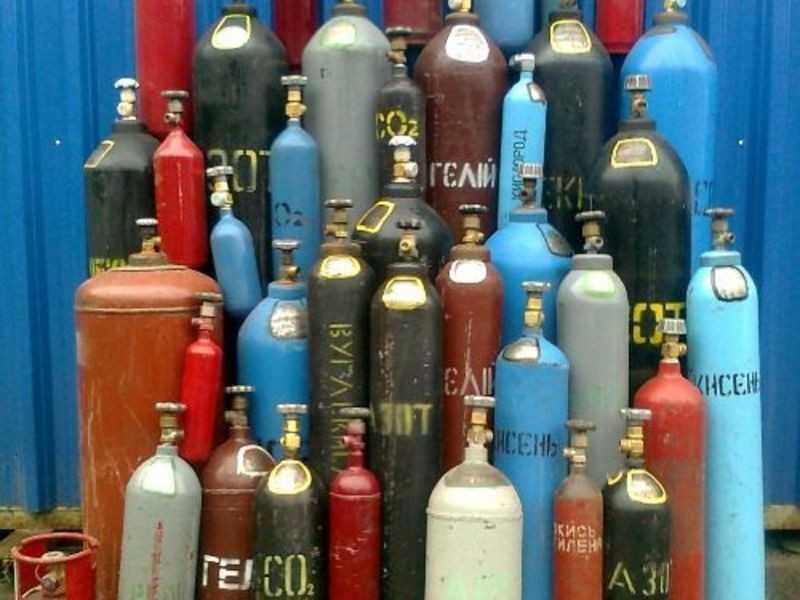 баллоны с сжиженными газами