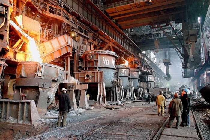 Металлургические комбинаты - основные потребители металлолома