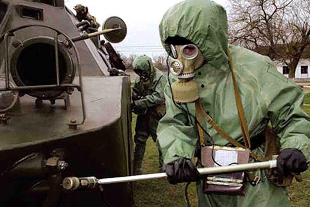 Радиационный контроль военного лома