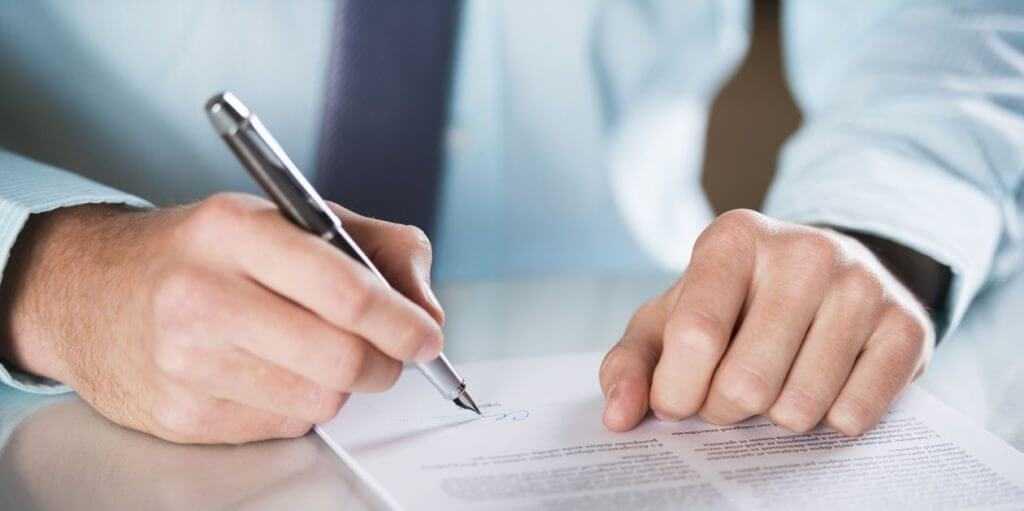 подписание договора франшизы