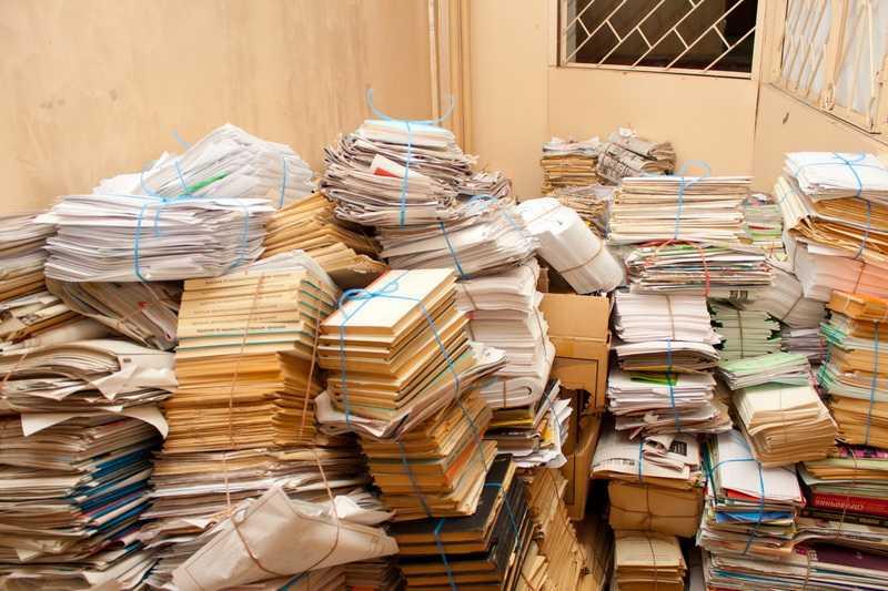 Макулатура - документы, с истекшим сроком годности