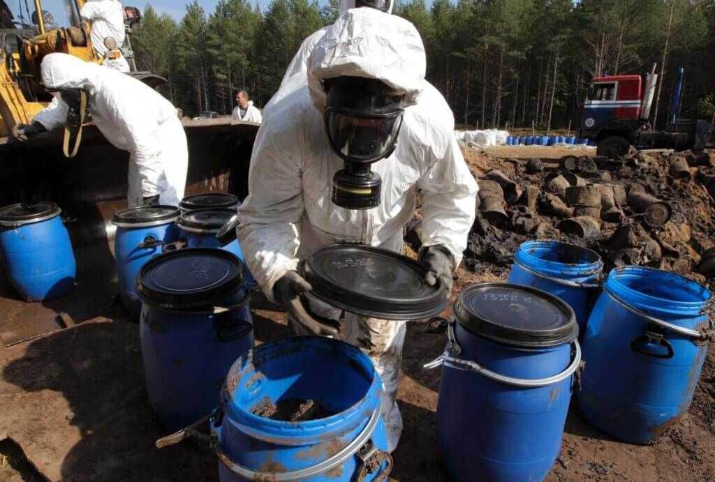 утилизация токсичных отходов