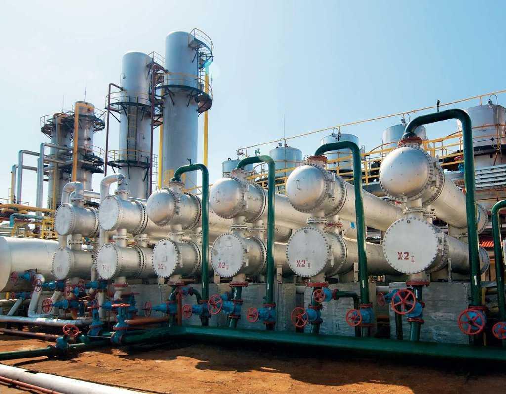 оборудование для первичной переработки нефти