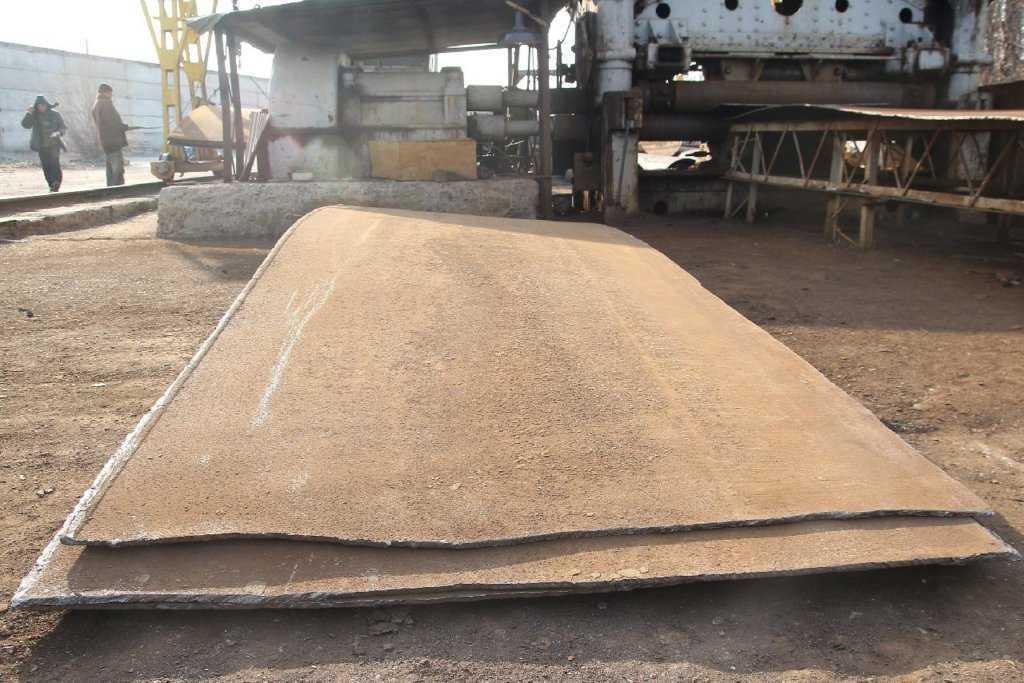 Деловой лист после демонтажа резервуара - востребованный товар