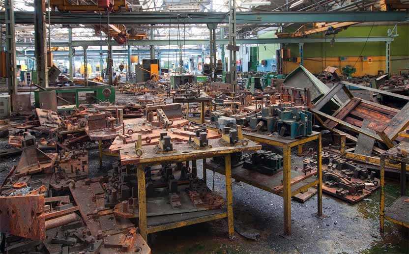 оборудование на металлолом