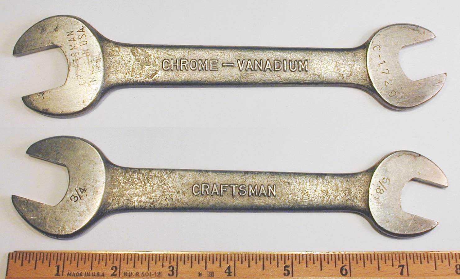 гаечный ключ хром-ванадий