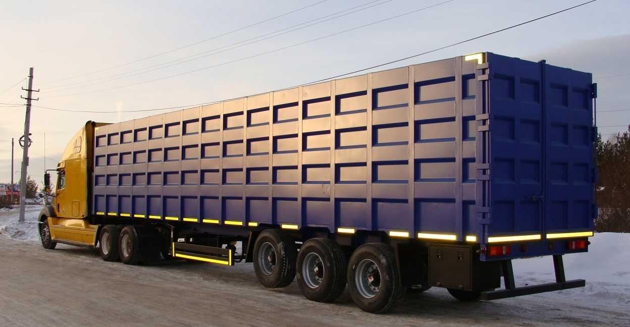 Металловоз-длинномер может выглядеть так - мощный, усиленный кузов