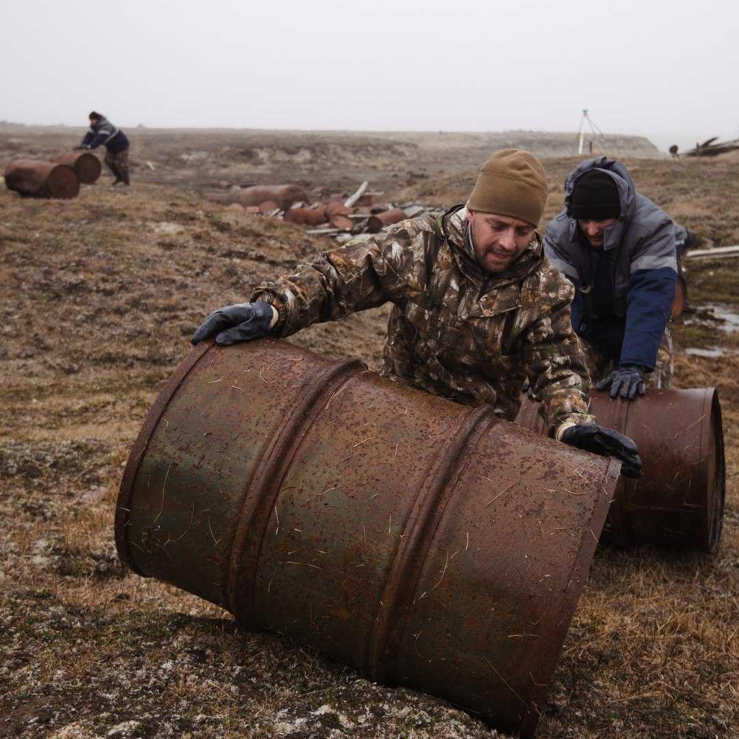 активная уборка арктики