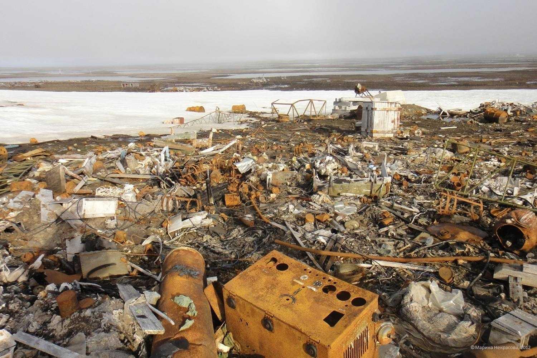 арктика утопает в мусоре