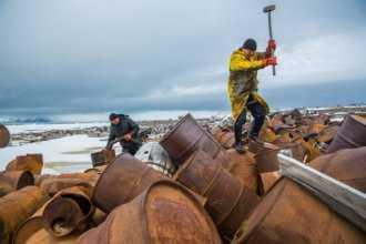 металлолом в Арктике