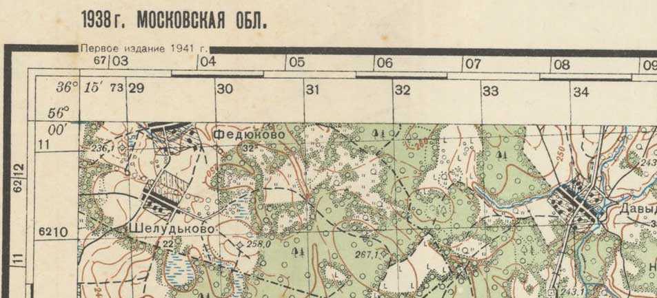 На таких картах можно найти заброшенные деревни, фермы, мастерские
