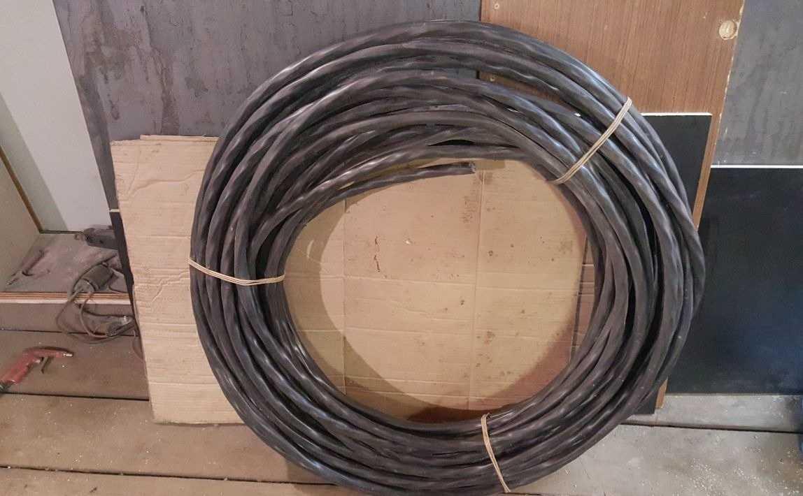 5 на 25 - Менял проводку в квартире и сдал новый кабель в лом