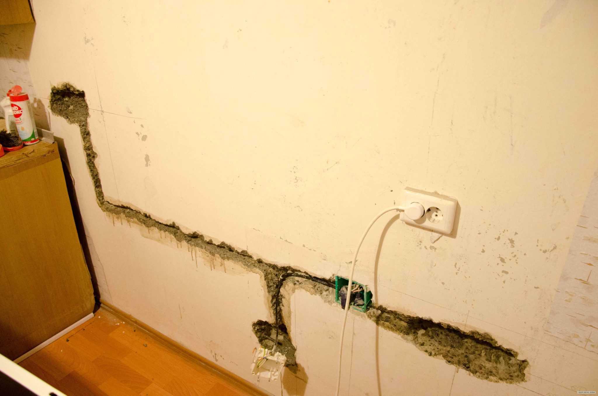 я ремонтировал проводку - Менял проводку в квартире и сдал новый кабель в лом