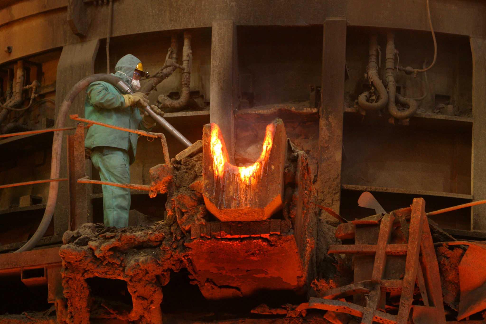 печь - Как мы сдавали ферросплавы на металлолом