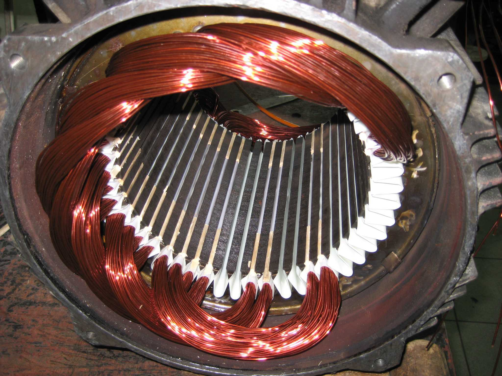 электродвигателя - Медный шантаж