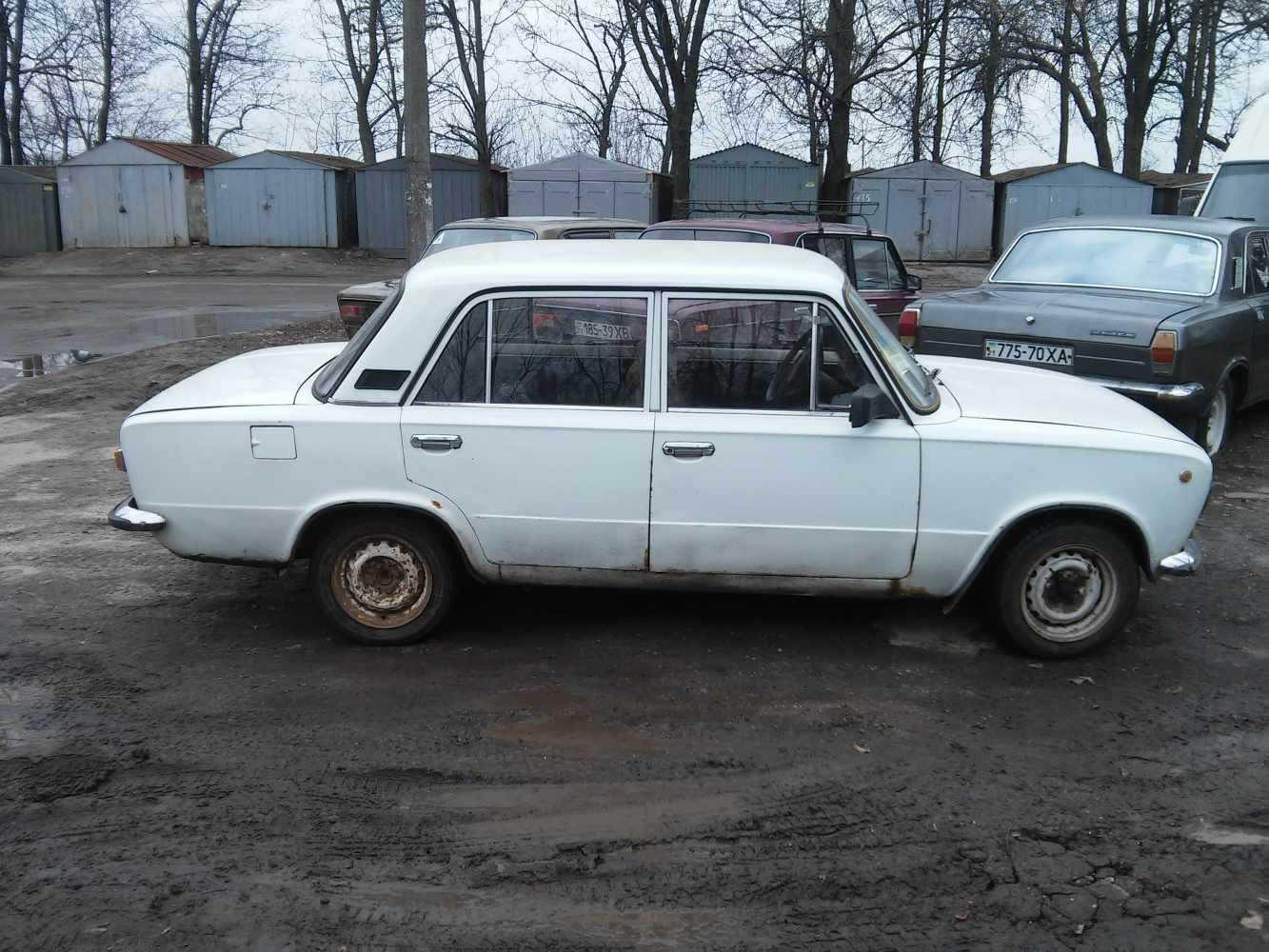 копейка - ВАЗ-21011 на металлолом - первый опыт