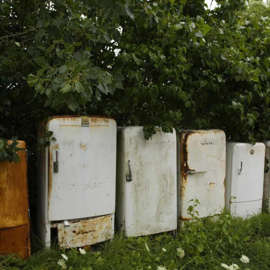 холодильники - История о сдаче холодильника Днепр-2 на металлолом