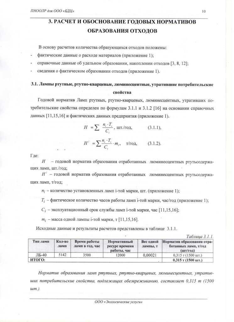 один из листов проекта ПНООЛР