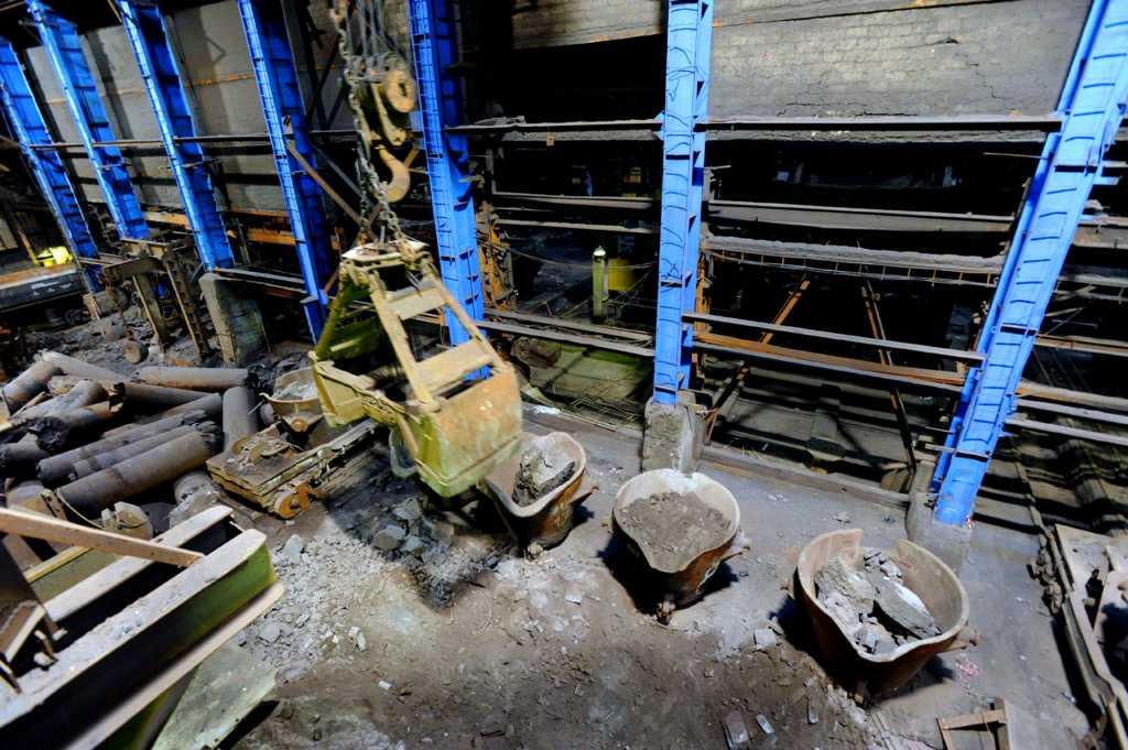 На заводе по производству никеля