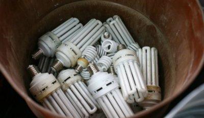 отходы люминесцентных ламп