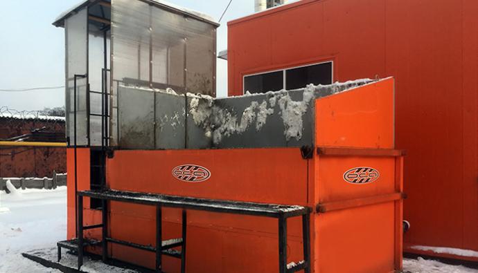 Snegoplavilnaya ustanovka 2 21220126 690x395 - Виды снегоплавильных установок, принцип работы, цены