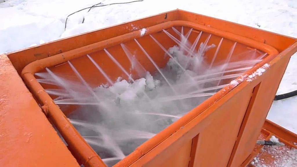 maxresdefault 17 1024x576 - Виды снегоплавильных установок, принцип работы, цены
